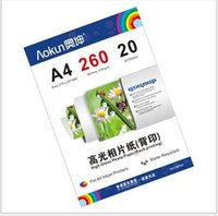 Wholesale Value Gloss Glossy Photo Paper with back printing A4 g Sheets inkjet waterproof paper photo paper for Inkjet Prints
