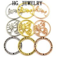Wholesale 2015 new arrival Floating Charms Window Plate Pendant Fit mm Large Origami Owl Living Locket