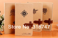 Wholesale DIY Stationery Vintage Notebook Diary Paper Notepad Sketch Book pc