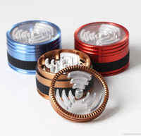 bangers - 4 parts quot luxury grinder very sharp teeth with silicone ring on rd part Free quartz banger nail promotion Sharpston quality
