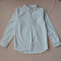 Wholesale 2 years baby boys wear white full sleeve T shirt for spring and autumn childern clothes