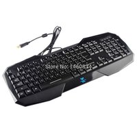 aula befire - AULA BEFIRE Waterproof Blue Backlit USB Wired Key Gaming Keyboard