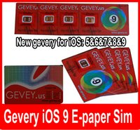 apple care iphone - for iOS Gevey sim care for iPhone s plus s New E paper sim Gevey us DHL