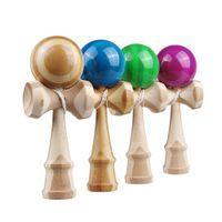 bamboo sword sport - 200pcs Eco friendly high quality wooden toys sport sword ball bamboo kendama