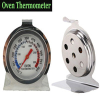 Wholesale Oven Thermometer Food Meat Temperature Stand Up Dial Gauge Gage