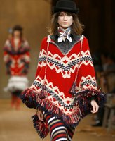 Cheap women knitting pocho Best winter knitting cape