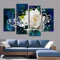 Cheap modern flower painting Best flower ats