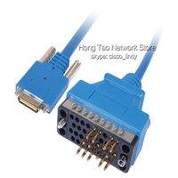 al por mayor wan cables-Cable del ranurador de la red de la longitud de 5PCS / LOT 10 FT CAB-SS-V35MT V.35 cable para la tarjeta de interfaz de Cisco WAN