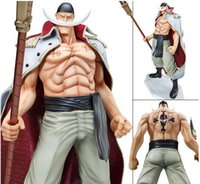 beard products - White beard Action Figures Big player animation cartoon toys One piece generation of POP monster