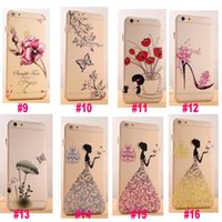 Cheap For Apple iPhone Luxury iPhone Case Best Clear White Crystal iPhone Case