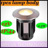 Al por mayor (WECUS) envío libre, 100% auténtico original, plug LED en las luces del jardín, lámpara a prueba de agua al aire libre, villa enterrado luces del jardín, 12V