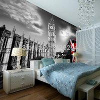architectural styles - European British architectural art style photo wall paper black and white of d large mural wallpapers background