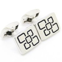 Wholesale Jewelry Cuff links Square Round Oval Red Blue Gold Green Diamond Epoxy Grade FashionCufflinks AE2163
