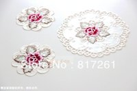 Cheap coasters pad Best item embroidery