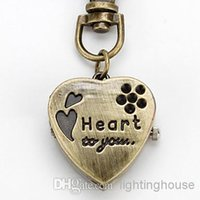Cheap Heart Keychain Watch Best Quartz Keychain Watch