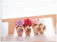 Wholesale 2015 New Arrive Sandals Children Kids Girls sandals Big Flower Girl Lovely Summer sandals Shoes