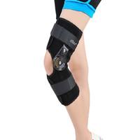 adjustable support posts - Orthopedic Hinged ROM Adjustable Sports Knee Brace Support Splint Stabilizer Wrap Sprain Post Op Hemiplegia Flexion Extension