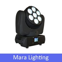 Wholesale 7PCS W Osram LED Moving Head Beam Light With Channel RGBW DMX Stage Lighting