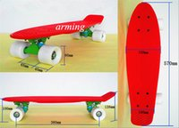 Cheap Bat Board electronic scooters Best High standard PP material 23inch * 6inch Skateboard