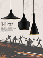 Wholesale 3pcs together ABC Tall Fat and Wide Design by tom dixon copper shade pendant lamp Beat Light V V lamP