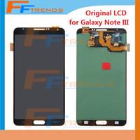 Cheap Original LCD Display & Touch Screen Digitizer Assembly for Samsung Galaxy Note 3 III N900 N900R4 N900T N900P N900V N9006 N900A N9005