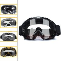 Wholesale Motocross Scooter Dirt Bike Quad ATV UV Protection Snowboard Off road SKI Racing Helmet Goggles Glasse Kid Adult