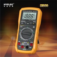 Wholesale HOT SALE HYELEC MS80 Professional Digital Multimeter AC DC Voltage Current Resistance Tester w Backlight LCD Electrical Multimetro H11408