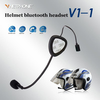 Wholesale Pro V1 Motorcycle Motorbike Sport Mobile Phone Bluetooth Helmet Headset V3