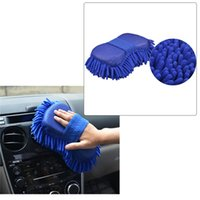 Wholesale Ultrafine Fiber Chenille Anthozoan Car Wash Gloves Microfiber Car Motorcycle Washer Supplies Car care brushes cleaning Tool