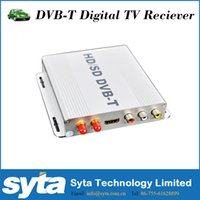 Wholesale DVB T Car Set Top Box High Definition Digital Media Player Twin Tuners Special Design Set TV Box Satellite Receiver DVB T