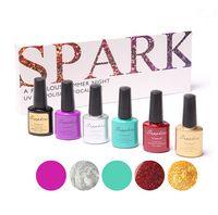 Wholesale Best sets nail polish combinations Top Fashion Sapphire Gel Polish ml and Free nail tools