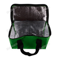aluminum tote boxes - lightdeal upgrade Waterproof Travel Aluminum Foil Insulated Zipper Lunch Box Cool Bag Picnic Tote Household