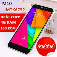 Livraison gratuite 5.0 pouces d'origine téléphone pas cher Chine MTK6752 Octa base 4 Go de RAM 16 Go ROM 13.0MP Smart Camera téléphone déverrouillé téléphone mobile