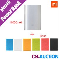 Wholesale Original Xiaomi Mi Power Bank mAh New Portable Mobile Power Bank MI Charger mAh for Phones Pad MP3