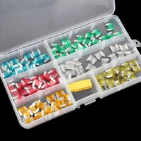 Wholesale 120Pcs MINI Blade Fuse Assortment Auto Car Motorcycle SUV FUSES Kit APM ATM A A A A A A A A A A BoX