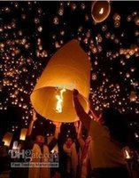 Cheap Wishing Lamp SKY CHINESE LANTERNS fire balloon Chinese Kongming lantern