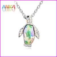 animal jewelry - New Crystal Penguin Necklace Made With Swarovski Elements Animal Pendant Fashion Jewelry