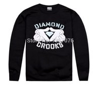 sweatshirt - Crooks and Castles sweatshirt diamond fashion hip hop hoodie mens clothes sportswear hiphop pullover sweats brand crooks stylish