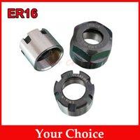 Wholesale 10Pcs ER16 Nut Engraving Machine Principal Nut ER16A M A collet nut for cnc engraving spindle motor