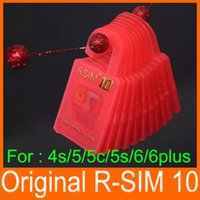 r sim 8 - Newest Original R SIM rsim R SIM Unlock Card for iphone S C S plus iOS6 X X Support Sprint AT T T mobile Cricket