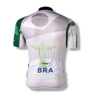 bicycling world - New Spakct Mens Cycling Fun Outdoor Sportswear Bike Bicycle Cycling Clothing Short Sleeves Jersey Jacket World Cup Brazil