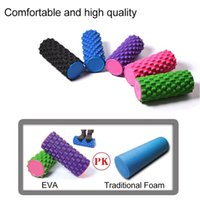 Wholesale Multifunction EVA Foam Yoga Roller Sports Trigger Point Yoga Rollers for Massage Muscle Relax Fitness Gym Exercise