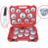 Wholesale US STOCK America Local Shipping Cup Tyre Oil Filter Rust Resistant Wrench Tool Kit Removal Socket Remover