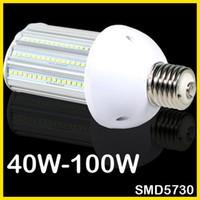 high lumen led - Super Bright LED Corn Bulb Lamp E27 E40 E39 W W W W High Lumen Workshop Replacement W CFL HPS Metal Halide Lamp Street Light