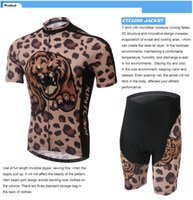 Wholesale 2015 New arrive men Cycling bear printting hot sale Short sleeve anti pilling Compression tights Sports fast drying