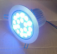 Wholesale to Europe wires rgb X1W led ceiling light DC V led down light used for art museums and gallery