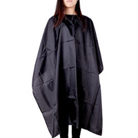 Wholesale Salon Hairdressing Waterproof Haircutting Gown Hairdresser Hair Cutting Barber Hair cut Tool Cape Cloth Apron Shade H13845