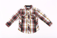 baby boy unique gifts - Fresh Clothes For Kids Clothes Baby Unique Plaid Shirts Elegant New England Gentleman Noble Style Fashion Cute Best Slim Christmas Gift