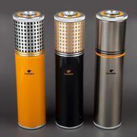 aluminium alloy tube - COHIBA Aluminium Alloy Travel use Cigar Tube With Cigars Three Color for Choose