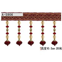 authentic costumes - Promotional Authentic upscale curtain accessories lace curtains roll of meters high CM